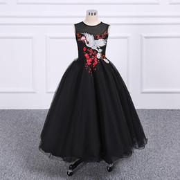 2018 Ziemlich Fairty Blumenmädchen Kleid High Neck 3D Blumen Apliques Mädchen Pageant Kleider Schöne Handgemachte Blumen Geburtstag Kleid