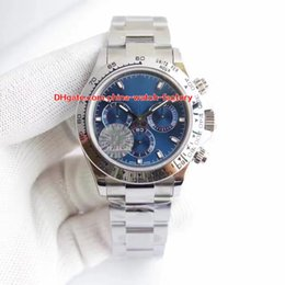 Mens swiss Mechanical watch online shopping - 5 Color Best Quality JF Factory mm Cosmograph Chronograph Swiss CAL Movement Automatic Mens Watch Watches