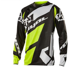 Xxxl Dh Canada - NEW cycling racing clothes Off-road Motocross Jersey for men long sleeve cycling Jersey 2018 Mountain downhill Bike DH MX RBX K