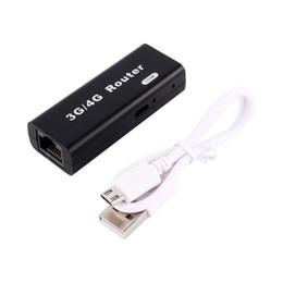 Mini 3G / 4G WiFi Routeur Sans Fil Usb Wlan 4G Hotspot 150 Mbps RJ45 USB WiFi Routeur Pour Mac iOS Android Téléphone Mobile Tablet PC