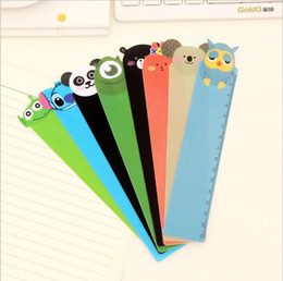 school office supplies 15cm length cute bendable carton plastic straight ruler PVC measuring ruler promotional gift stationery from headphone cable organizers suppliers