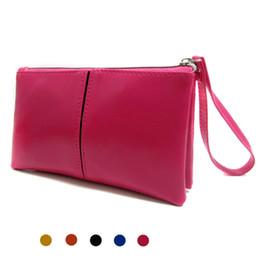 $enCountryForm.capitalKeyWord NZ - New High Quality Women Bag Clutch Bags Soft PU Leather Handbags Designer Card Holder Cell Phone Bags for Girl Bolsa Feminina