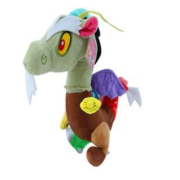 Pokemon Kids Figures Australia - New Brand Angry Pony Pokemon New Cotton Plush Toy Action Figures Friendship Is Magic Discord