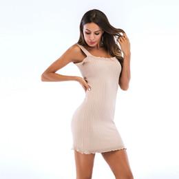 $enCountryForm.capitalKeyWord Canada - New Sexy Casual Dresses Women Summer Sleeveless Evening Party Beach Dress Short Chiffon Mini Dress Womens Clothing Apparel Short Skirt