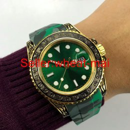 $enCountryForm.capitalKeyWord NZ - Luxury aristocratic brand men's watch calendar watch gold carving series automatic mechanical natural rubber strap classic noble