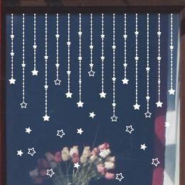 hot sale wall stickers windows room home decor diy christmas decoration merry christmas tree ornaments adesivo de parede - Diy Christmas Window Decorations