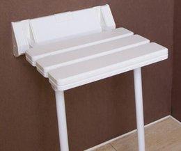Ingrosso Sgabello da bagno Sgabello pieghevole in plastica Sgabello in plastica con gambe carico sedia 180 kg panca pieghevole