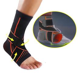 760f6e58dc23c Manga de soporte de compresión Spuitom respirable para el tobillo para  entrenamiento de gimnasia