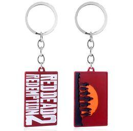 $enCountryForm.capitalKeyWord Canada - Game Red Dead Redemption 2 Keychain John Marston Weapon Gun Model Key Chain for Men Car Keyring Chaveiro Jewelry