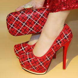 Shoes Women Fashion Style Canada - .New European Style Rhinestone Shoes And Evening Bag Set Fashion Woman High Heel Shoes And Bag Set For Wedding Party JJC1-1