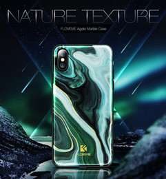 original apple bags 2019 - FLOVEME Original Agate Case For iPhone X 7 8 Cover Luxury Fashion Marble Phone Bag Case For iPhone X 7 8 Plus Accessorie