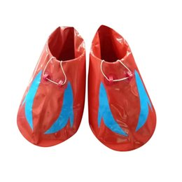$enCountryForm.capitalKeyWord Australia - 70cm Big Feet Shoes Outdoor Parent-child Sports Equipment Fun Sports Games Props for Adults Inflatable Shoes