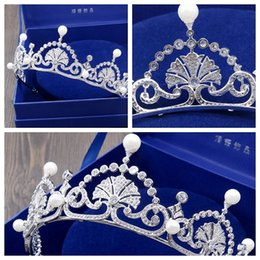 Coral Hair Accessories Australia - Luxury British bride crown tiara   birthday dinner hair accessories   wedding dress accessories   into the store to choose more styles