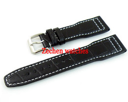 $enCountryForm.capitalKeyWord UK - Leather Watch Strap Stainless steel buckle Wristwatches Band Repair tool 22mm