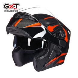 $enCountryForm.capitalKeyWord NZ - Genuine GXT Winter Flip up Motorcycle Helmets Dual Lens High Quality Motor bike Scooter Winter Summer Men Moto Helmet