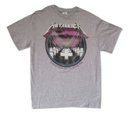 $enCountryForm.capitalKeyWord UK - Master Of Puppets Distressed Heather Grey T Shirt New Official 100% Cotton Geek Family Top Tee Summer Short Sleeves Fashiont