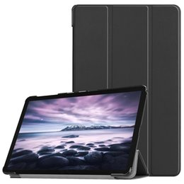 Sleep Slim online shopping - Ultra Slim Book Flip Cover for Samsung Galaxy Tab A2 T590 T595 inch Tablet PU Case Auto Wake Sleep Stylus Pen