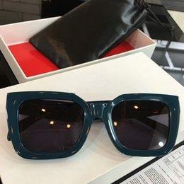 e189617f19 NUEVA llegada EURO-AM marca CL41450 gafas de sol 50-24-145female big-frame  de alta calidad de espesor tablón puro gafas de sol Exquisitas OEM de salida  de ...