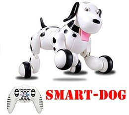$enCountryForm.capitalKeyWord NZ - HappyCow 2.4G Wireless Remote Control Smart Dog Electronic Pet Educational Children's Toy Dancing Robot Dog