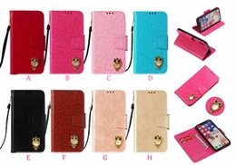 apple id card 2019 - 3D Owl Leather Wallet Case For Iphone XR XS MAX X 10 8 7 6 6s Galaxy Note9 S9 Vintage PU ID Card Slot Coque Flip Cover R