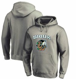 Chinese  Men's Winter Newest Fashion Sweatshirts, New Design Style North Dakota Fighting Sioux Picture Printing O-Neck Hoodies Pullover manufacturers