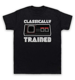 Gray console online shopping - Classically Trained T Shirt Master System Console Controller