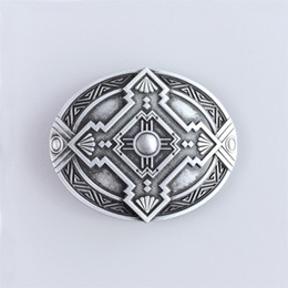knot belt NZ - New Vintage Classic Oval Celtic Knot Southwest Belt Buckle Gurtelschnalle Boucle de ceinture