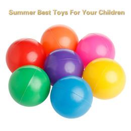 $enCountryForm.capitalKeyWord Australia - 100 PCS FUN Marine Ball Colorful Ball Soft Plastic Ocean Ball Funny Kids Sand Play Swim Pit Toys Water Pool Fun Wave Balls Outdoor Play