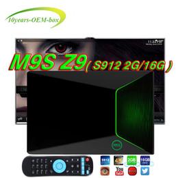 $enCountryForm.capitalKeyWord NZ - M9S Z9 Android TV Boxes Amlogic S912 Octa Core Android 7.1 Smart OTT TV Box 2G 16G LAN 1000M 2.4G Wifi BT 4K Smart TV Box Media Player