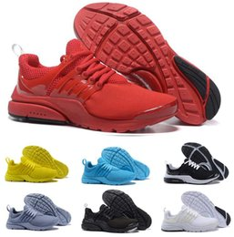 casual green shoes for mens 2019 - Presto running shoes for Mens Women Prestos Ultra runners BR QS Yellow tripe black Oreo Outdoor Fashion Jogging Sneakers