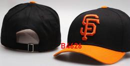 Chinese  New Brand Giants Cap Hip Hop sf hat strapback men women Baseball Caps Snapback Solid Cotton Bone European American Fashion hat manufacturers