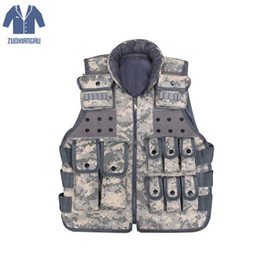 Discount tactical carrier vest - Paintball Tactical Molle CIRAS Vest Paintball Combat Vest Magazine Pouch Utility Bag Releasable Armor Carrier