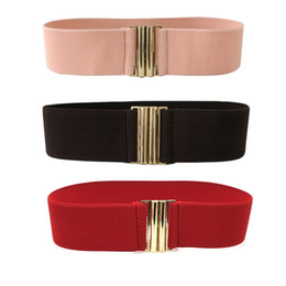 $enCountryForm.capitalKeyWord UK - Stretch cinch Elastic Wide Corset Waist Belts for women golden Metal Buckle female wide belt women fashion 2018 belts female