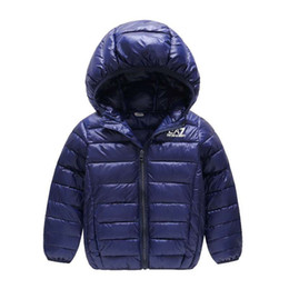 China Children Jacket Outerwear Boy Girl Autumn Warm Down Hooded Coat Kids Winter Jacket Baby Clothing Jackets for Girls 2-10T cheap boy girls lycra clothing suppliers
