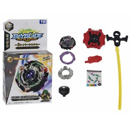 New Style Beyblade NZ - 6 Styles 2018 New Spinning Top Beyblade BURST With Launcher And Original Box Metal Plastic Fusion 4D Toys