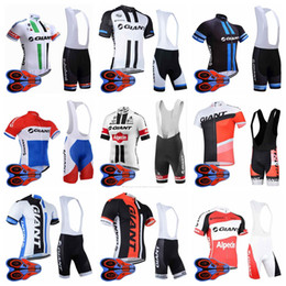 $enCountryForm.capitalKeyWord Canada - Giant team Cycling Short Sleeves jersey bib shorts sets Factory price New men Style Top Quality bicycle clothing MTB ropa ciclismo 92716J
