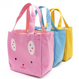 Wholesale Cute Women Girl Cartoon Lunch Bags Thermal Insulated Lunch Box Picnic Storage Bags Cooler Tote Bag ZA6848