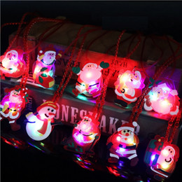 wholesale flashing christmas lights necklace nz led christmas light up flashing necklace children kids glow
