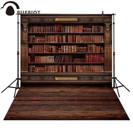 $enCountryForm.capitalKeyWord NZ - Allenjoy Photography backdrops Book shelf in Library graduation season background for photo studio