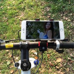 Weikostar Fahrrad Fahrrad Tasche Handyhalter Lenker Clip Stand verstellbare Handys Halterung Universal Bike Zubehör