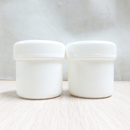 plastic recycle NZ - 30g 50g Mask Cream Pot,recycled cosmetic packaging PP Containers plastic cosmetic box,plastic cream jars F1110