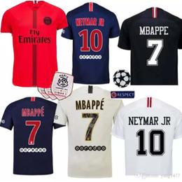 238f7388c 18 19 DI MARIA soccer jersey home 2018 2019 mbappe CAVANI PASTORE DRAXLER  away psg football shirts survetement maillot de foot customize