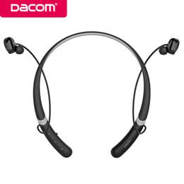 Discount dacom earphones - Dacom L02 IPX5 Waterproof Bluetooth Earbuds Headset Wireless Handsfree Stereo Sport Earphones with Mic for iPhone Xiaomi