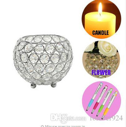 $enCountryForm.capitalKeyWord UK - Crystal Pillar Candlestick Candle Tealight Votive Holders Candle Stand for Wedding Table Centerpieces Party Decoration Events Decor