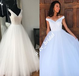 c2dd8bb04e4 Gothic Princess Ball Gown Wedding Dresses 2018 Long Floor Length Victorian  Bridal Gowns With V Neck Beading Crystal Plus Size Wedding Gowns