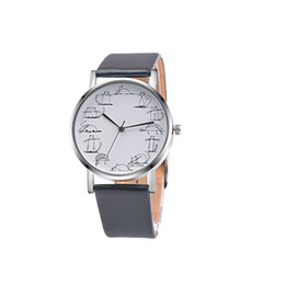 Cat design watChes online shopping - New Relojes Geneva Retro Design Lovely Cartoon Cat Casual Faux Leather Band Analog Alloy Quartz Wrist Watch Levert DropshipD1222
