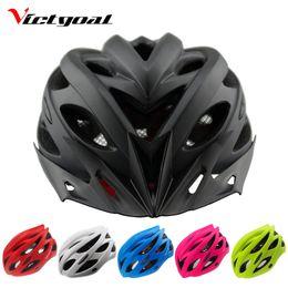 $enCountryForm.capitalKeyWord NZ - VICTGOAL Bicycle Helmets Matte Black Men Women Bike Helmet Back Light Mountain Road Bike Integrally Molded Cycling Helmets Y1892908