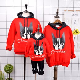 Matching Family Hoodies Canada - Family Look 2017 Fashion Mother Father Baby  Cotton Mommy and Me fab9a1d7f