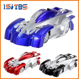 Gift car charGer online shopping - 2018 New RC Wall Climbing Car Remote Control Anti Gravity Ceiling Racing Car Electric Toys Machine Auto Gift for Children RC Car