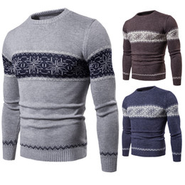 $enCountryForm.capitalKeyWord Canada - New Arrival Pullover Sweater Men' Fashion Tops With Long Sleeve Crew Neck High Quality Cashmere Blend Knitted Winter Mens Clothing For Sales